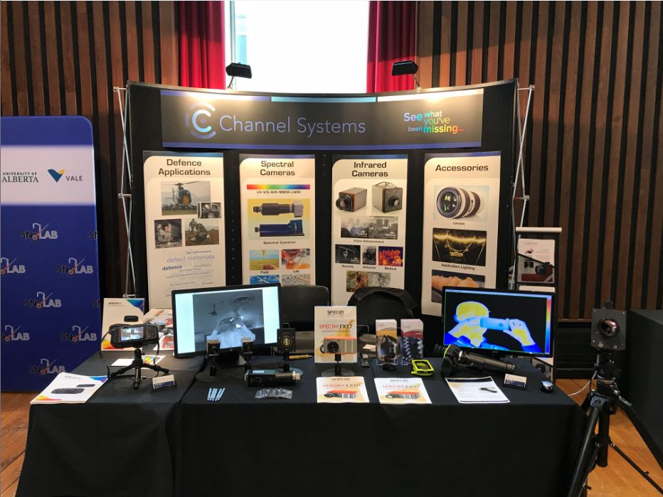 Channel Systems Exhibition Booth at CAP Conference 2018