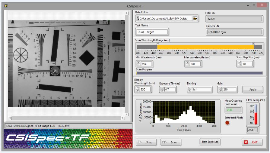 Spectral TF Interface Banner