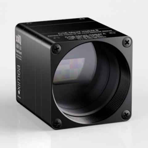 xiSpec VisNIR linescan hyperspectral camera